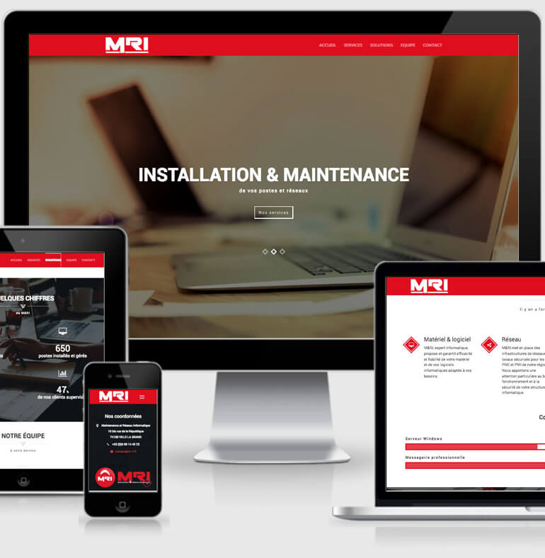 M&RI | Maintenance Informatique