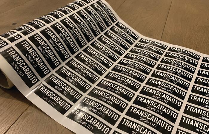 Vectorisation de logo et création de stickers haute-résistance