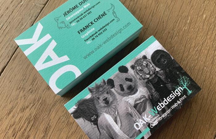 Découvrez nos nouvelles cartes de visite texturées!