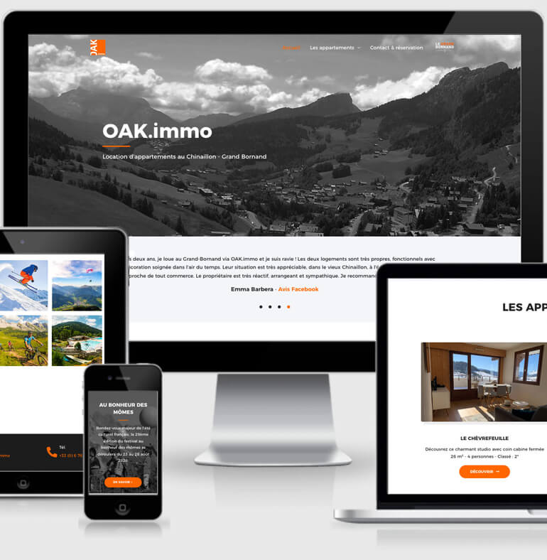 OAK immo | Location appartements
