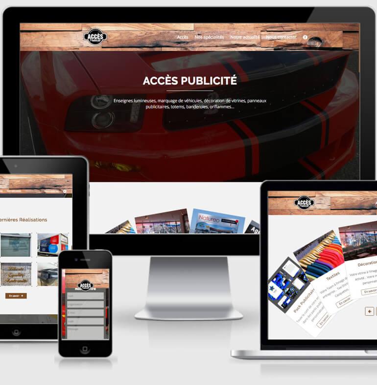 Accès Publicité | Communication et marquage