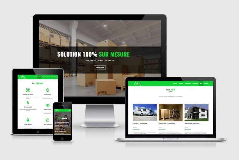 Site Web Responsive - Box